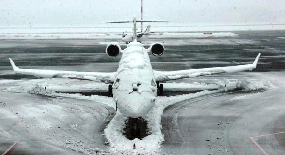 de icing and antiicing methods in the aircraft