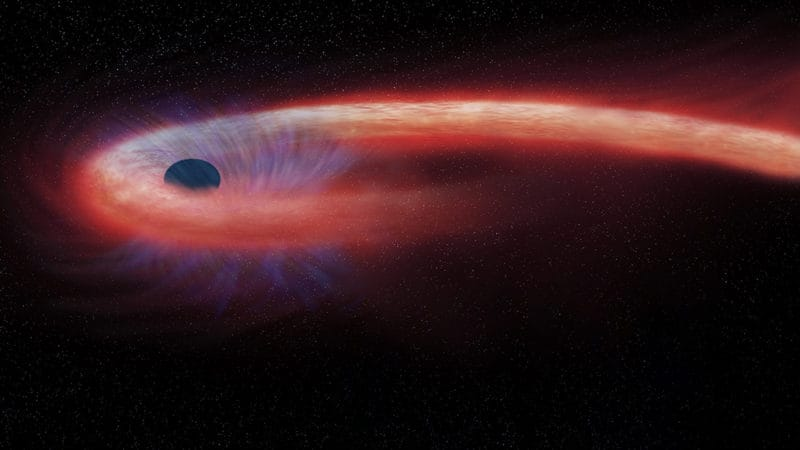 A Shredded Star May Have Spat Out An Extremely Energetic Neutrino