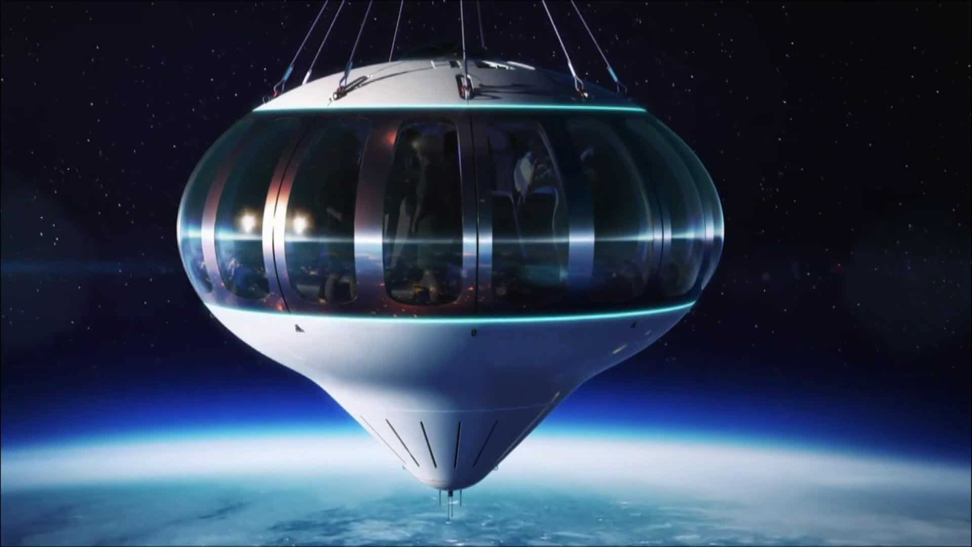 balloon ride to space, space tourists